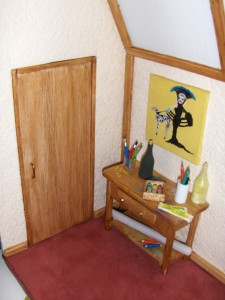 Le coin gauche dans L'atelier du peintre hpim47303-225x300