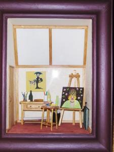 La vitrine terminée dans L'atelier du peintre hpim4751-225x300